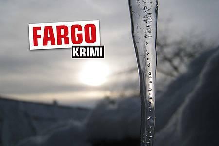 """Eiszapfen mit Aufschrift """"Fargo"""""""