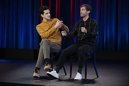 Middleditch & Schwartz auf der Bühne